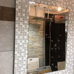 Ogledalo beli mozaik kupatila online