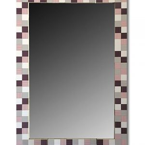 Ogledalo roze mozaik kupatila online