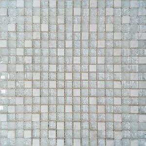 Beli stakleni mozaik kupatila online