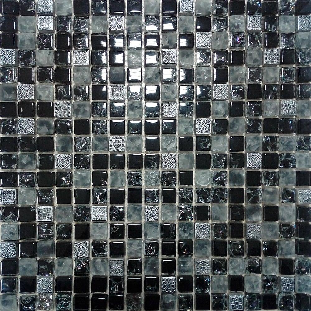 black stakleni mozaik kupatila online