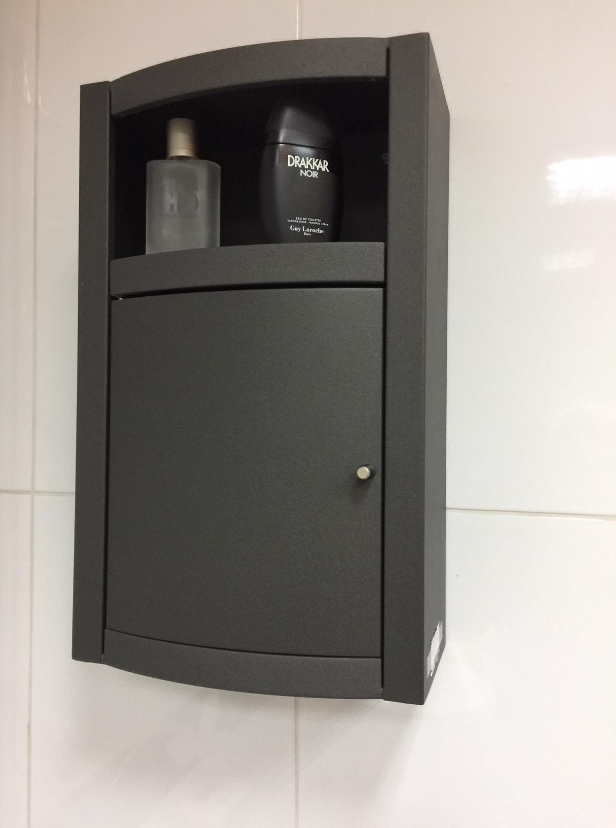 Konzolni ormarić crni namestaj kupatila online