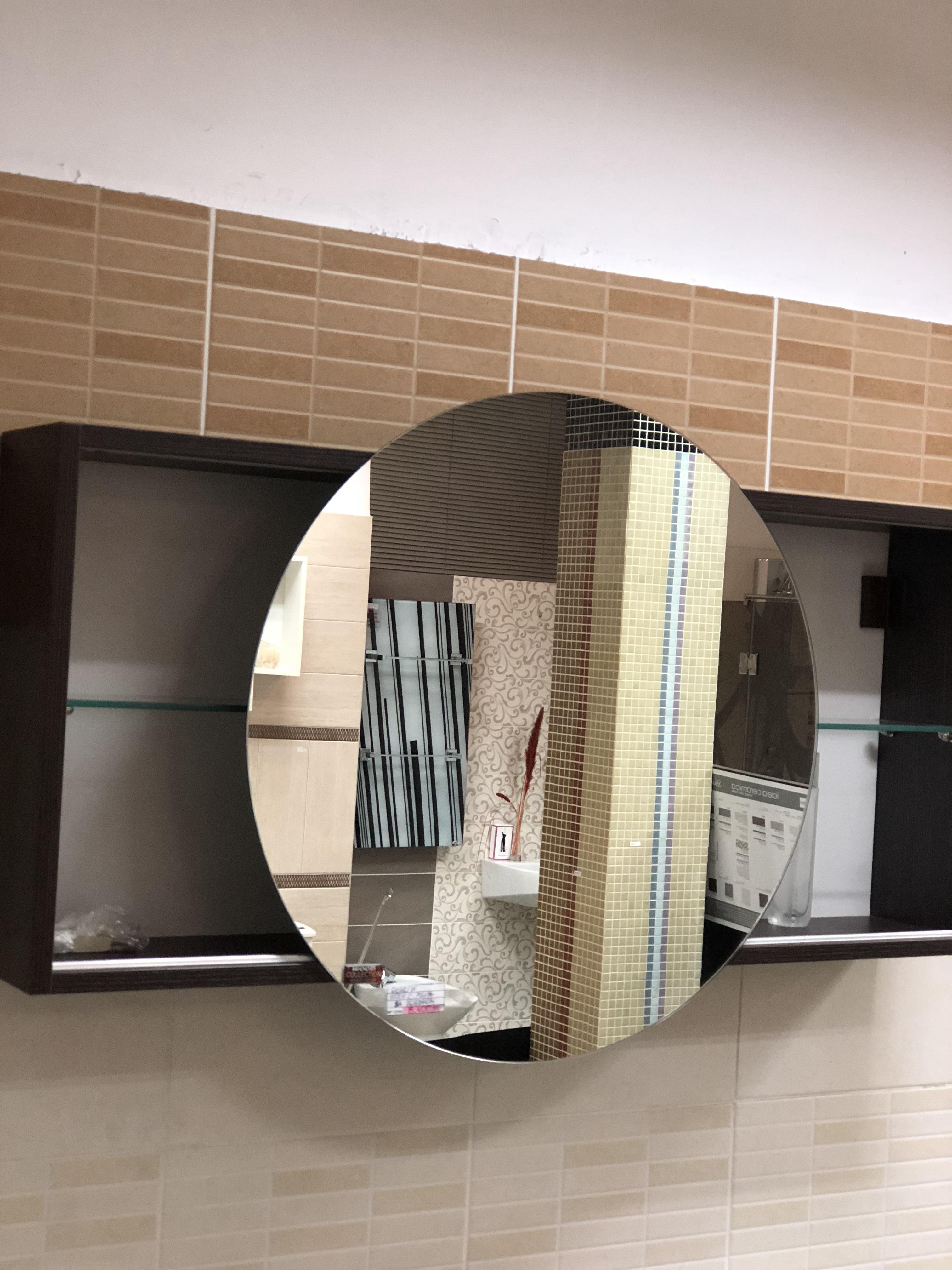 Polica sa kliznim ogledalom-wood namestaj kupatila online