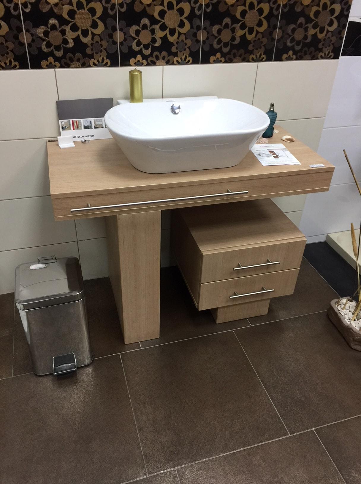 Polica sa ormarićem za lavabo namestaj kupatila online