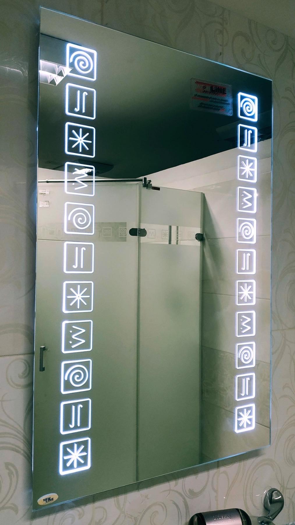Led ogledalo hireoglifi svetlo Gea Keramika