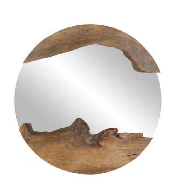 únikatno ogledalo drvo gea keramika